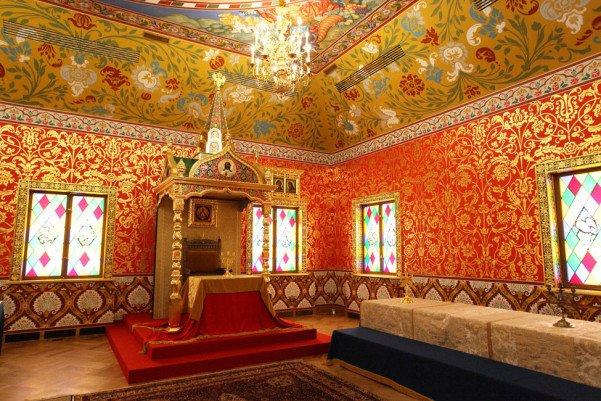 интерьеры дворца в коломенском