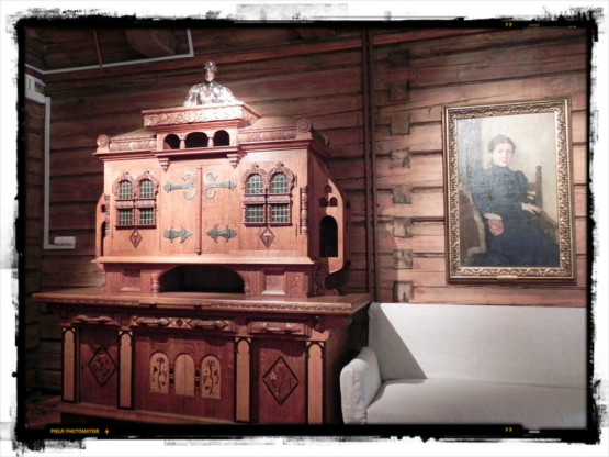 интерьер гостиной дома Васнецова
