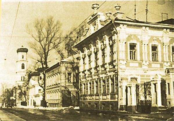 Дом Чеснокова старое фото