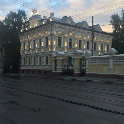 Современный облик усадьбы Чеснокова