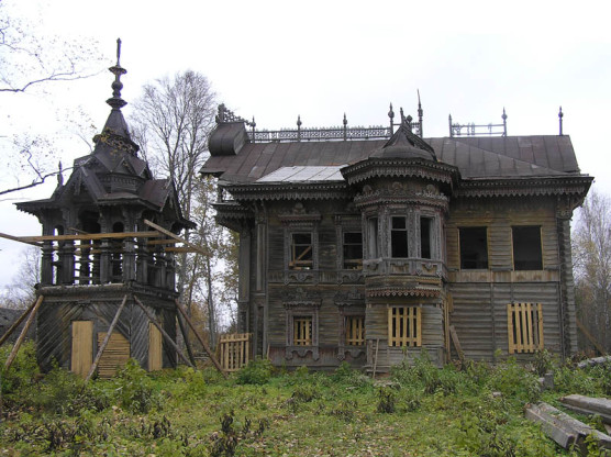 Дом сазонова до реставрации