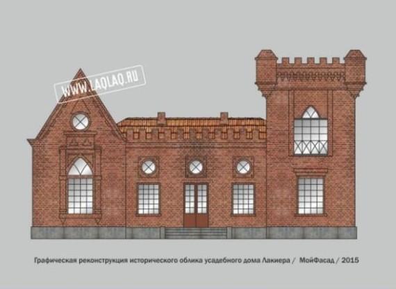 Макет реконструкции фасада