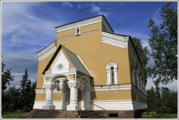 Церковь Николая Чудотворца - Белогорка
