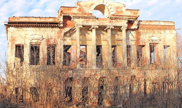 Дом Каратыгиных руины