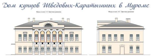 Дом купцов Каратыгиных