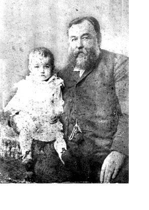 Гаврил Подвинцев с ребенком