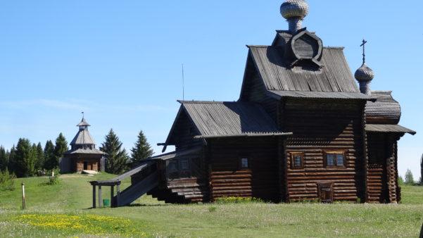 Церковь Преображения, музей Хохловка