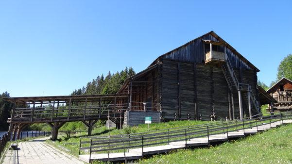 Амбар для зерна, музей Хохловка