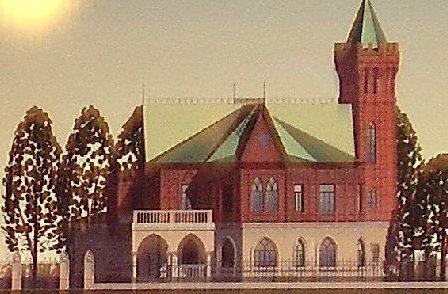 Проект реконструкции усадьбы