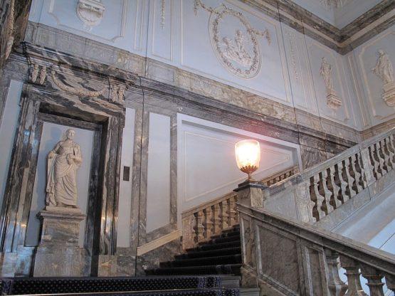 Мраморный дворец интереры