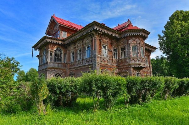 Терем Поляшова деревня Погорелово