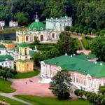 Вырубка парка усадьбы Кусково