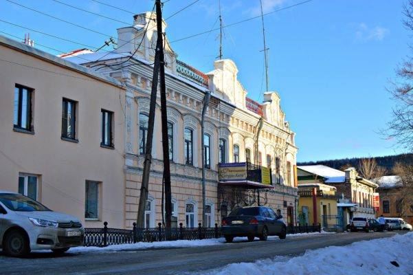Памятник архитектуры «Миассзолото»