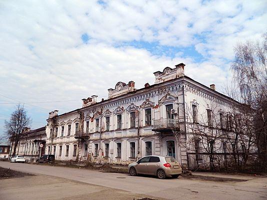 Особняк купца Грибушина в городе Кунгур