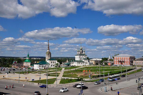 Соликамск. Соборная площадь