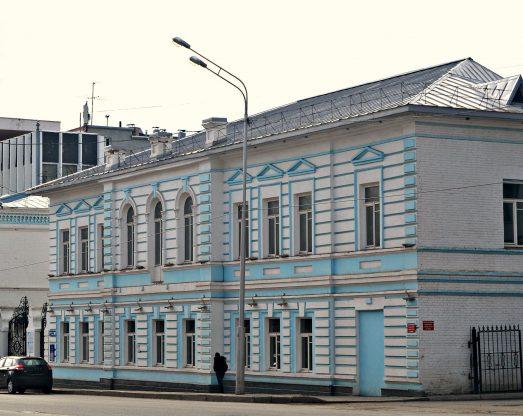 Особняк золотопромышленника И. Ф. Базилевского г. Уфа