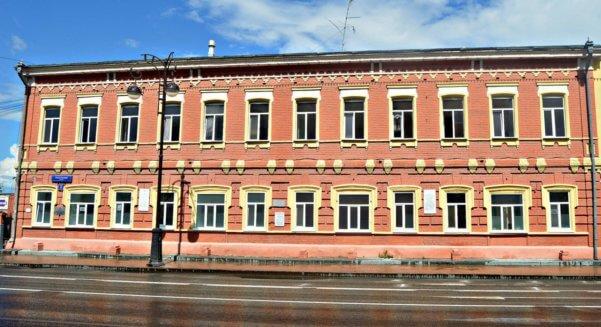 Дом купцов Лагиных в Тюмени